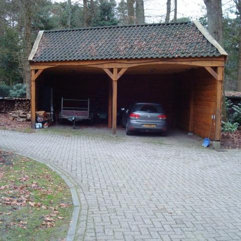 Nieuwbouw carport