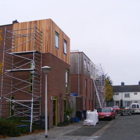 Opbouwproject in Moleystraat te Zwolle